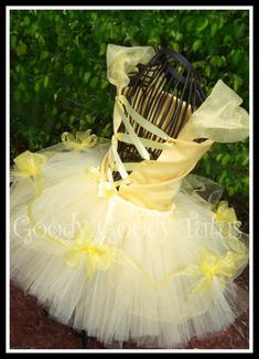 BELLE of THE BALL Beauty and the Beast Inspired 2pc Set with Satin Corset Top & Embellished Tutu
