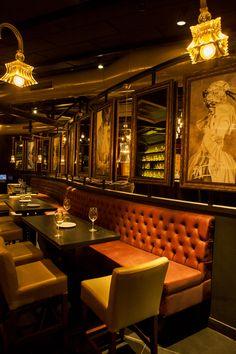 Cameo Club Restaurant Pub Interior, Restaurant Interior Design, Decoration Restaurant, Pub Decor, Home Decor, Restaurant Concept, Cafe Restaurant, Speakeasy Bar, Cafe Concept