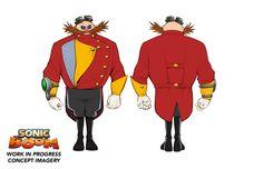 Dr. Eggman - Sonic Boom concept art