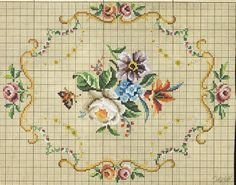 This Pin was discovered by Nur Cross Stitching, Cross Stitch Embroidery, Embroidery Patterns, Hand Embroidery, Cross Stitch Patterns, Mini Cross Stitch, Cross Stitch Needles, Cross Stitch Flowers, Cross Stitch Geometric
