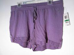 Alfani New Sleep Lounge Shorts Purple large