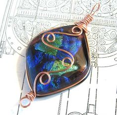 Wire Pendant Designs | Wire Wrapped | Arts, Crafts and Design Finds - Page 2