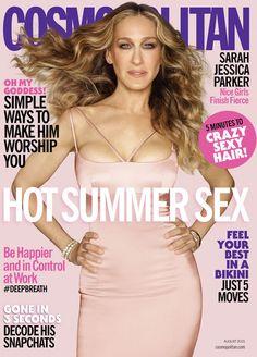 Um Raio De Sol Na Água Fria : Sarah Jessica Parker For Cosmopolitan