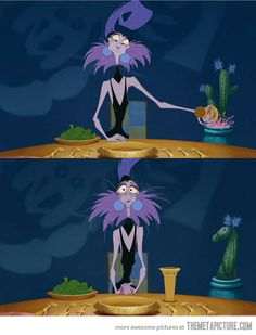 Something you probably missed while watching The Emperor�s New Groove�