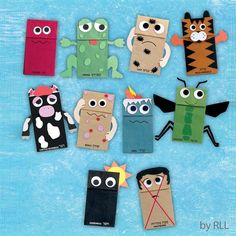 10 Plagues, Paper Bag Crafts, Paper Bags, Jewish Crafts, Children's Church Crafts, Paper Bag Puppets, Puppets For Kids, Moise, Sunday School Crafts
