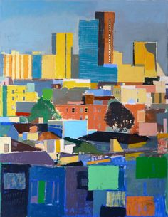 "©2013 Mitchell Johnson  ""Alta Plaza (Scrabble),"" 2012-2013 75x58 $25,000"