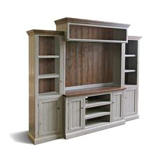 Entertainment Center Tv Stand Reclaimed Wood Media Console