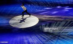 Daisuke Takahashi of Japan performs during the ISU World Figure Skating Championships World Champions Gala on April 1 2012 in Nice France