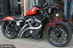 Harley Davidson Sportster Bobber Iron 883 #harleydavidsonsportsterwomen