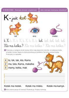 Włącz Polskę- Polska-szkola.pl Second Language, Speech And Language, Polish Language, Speech Therapy, Montessori, Hand Lettering, Activities For Kids, Homeschool, Letters