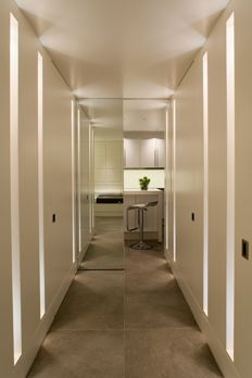 Lighting design by John Cullen Lighting Hall Lighting, Loft Lighting, Lighting Showroom, Lighting Design, Lucca, Window Reveal, Hospital Design, Light Architecture, Lighting Solutions