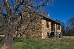 Rock House Thomas Ansley Wrightsboro Quaker Settlement McDuffie County GA Photograph Copyright Brian Brown Vanishing North Georgia USA 2016
