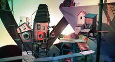 Lumino City, sequencia de Lume, está mais lindo a cada imagem. Confira outras imagens em: http://www.stateofplaygames.com/2014/02/lumino-city-takes-shape-new-images/