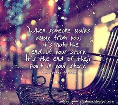 it is not the end of your story