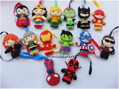 The avengers christmas ornaments Justice league christmas image 2 Christmas Images, Christmas Fun, Felt Ornaments, Christmas Ornaments, Ornament Tree, Sewing Crafts, Sewing Projects, Biscuit, Felt Bookmark