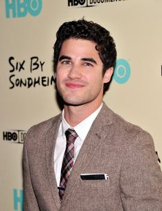 Darren Criss at the HBO screening of 'Six by Sondheim.' Grooming by Losi.