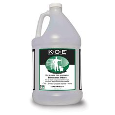K-O-E Kennel Odor Mild Ginger Eliminator, 1-Gallon * Click on the image for additional details. (This is an affiliate link and I receive a commission for the sales)