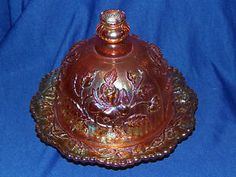 Imperial Glass Company | Details about Imperial Glass Company Marigold Carnival Glass Luster ...