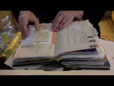 A Junk Journal as a Coffee Table Book..... who would have ever thought - YouTube