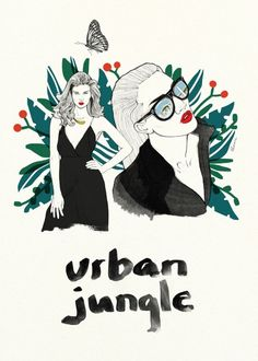 Plakat Urban Jungle