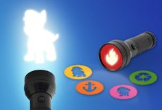 Paw Patrol Flashlight Stencils