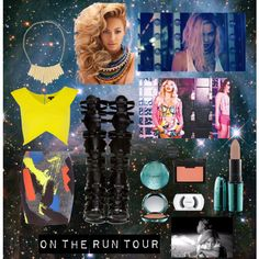 """""""Beyonce & Jay Z On The Run Tour Concert Outfit"""" by dolcechez on Polyvore"""