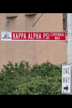 """Kappa Alpha Psi-ONE WAY"" Photography by Eugene Neat, Jr. Kappa Alpha Psi Fraternity Inc. CENTENNIAL CELEBRATION July 2011 Indianapolis, Indiana."