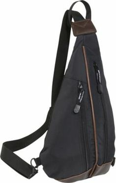 Derek Alexander Cross Shoulder Body Bag Black - via eBags.com!