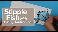 Tutorial on how to create a stippled effect with the Chameleon Pens…