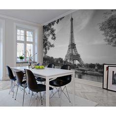 Wallpaper: Paris black white