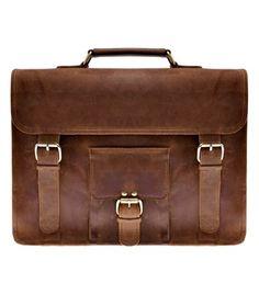 Zlyc Men's Vintage Retro Handmade Leather Briefcase 15.6-inch Laptop Bag Leather Messenger Bag Leather Backpack Satchel Handbag Brown ZLYC http://smile.amazon.com/dp/B00KMSW08A/ref=cm_sw_r_pi_dp_TkLXub0GCJSKB