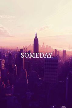 Someday I will be back
