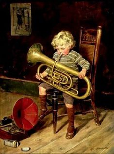 View A YOUNG MUSICIAN by Charles Spencelayh on artnet. Browse upcoming and past auction lots by Charles Spencelayh. Oil Painting Abstract, Painting Frames, Oil Paintings, Music Images, Music Pictures, Jazz Musicians, Queen Mary, Salvador Dali, Art Music