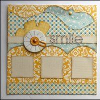 Kiwi Lane's awesome scrapbook system called framing - cool video shows how it works www.mycraftchanne...