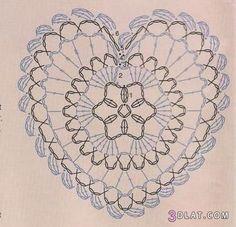 قلوب كروشية بالباترون 3dlat.com_1401746640