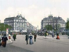 Potsdam Square, Berlin, Germany  1890-1900