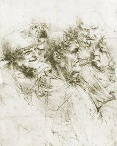 Leonardo Da Vinci - Pencil Drawing