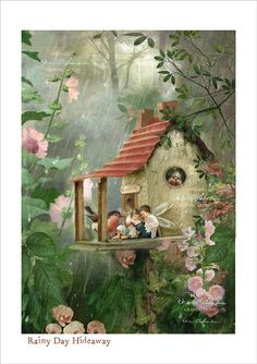 Fairies Art Photography' Rainy Day by CharlotteBirdfairies on Etsy