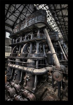 Five Sisters - Not Steampunk, but it could be!