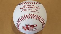 1984 Rawlings Official WORLD SERIES Baseball DETROIT TIGERS | Herta Store