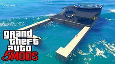 GTA 5 Mods - Casa Secreta no Meio do Oceano! (GTA V PC MODS)