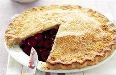 Cherry pie, yes please!  Nom nom nom!