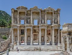 Libraries of the Ancient World:  Library of Celsus