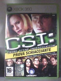 CSI: Prova Schiacciante  XBOX 360