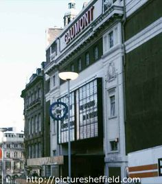 Gaumont Cinema, Barkers Pool, prior to demolition Sheffield Pubs, Sheffield Steel, Nice Photos, Old Photos, Cinema Theatre, South Yorkshire, Theatres, Old And New, Childhood Memories
