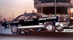 60s Funny Cars - Fast Eddie Schartman at OCIR