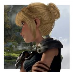 Astrid's new hairstyle