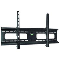 Low Profile Black Tilt/Tilting Wall Mount Bracket for Panasonic Viera TCP42C2 / TC-P42C2 Plasma HDTV TV/Televi