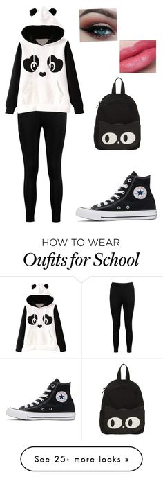 """Unbenannt #103"" by annax21 on Polyvore featuring Boohoo and Converse"