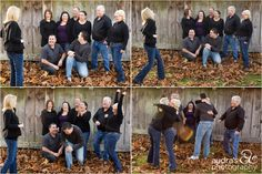 """Get the family together for a family photo and, instead of saying """"cheese"""", have the photog tell everyone to say """"we're pregnant!"""" And photograph everyone's response. (I love this! Hope we can say it again one day!!!!)"""